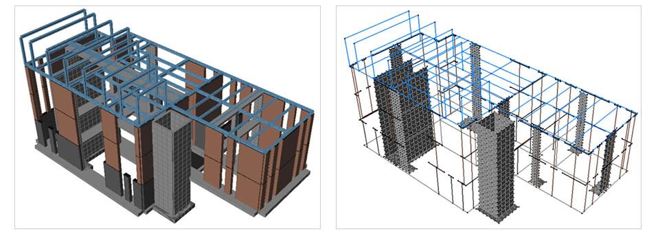 Modello 3D – stato di progetto