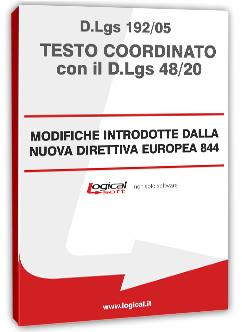D.LGS 192/2005 testo coordinato con il D.LGS 48/2020