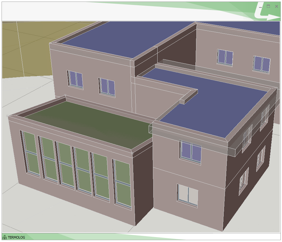 Rendering 3D di un impianto sportivo