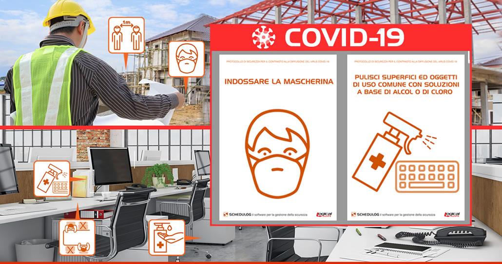 Lavorare in sicurezza ai tempi del COVID-19