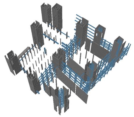 Modellazione strutturale degli elementi in calcestruzzo armato e acciaio con TRAVILOG